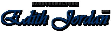 Hausverwaltung Edith Jordan GmbH Logo